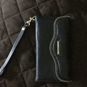 Rebecca Minkoff iPhone charger wristlet